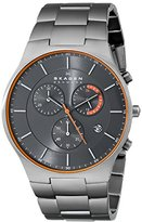 Skagen Men's SKW6076 Balder Grey Titanium Link Watch