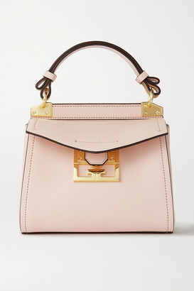 Givenchy Mystic Mini Textured-leather Tote - Pink