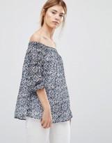 Greylin Jessalyn Off The Shoulder Blouse