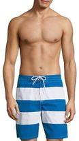 Lacoste Striped Taffeta Shorts