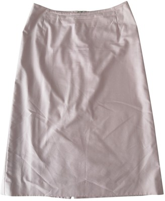 Burberry Pink Cotton Skirt for Women