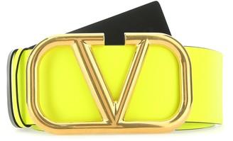 Valentino VLogo Buckle Belt