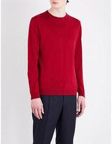 Armani Collezioni Crewneck Virgin Wool Jumper