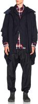 Engineered Garments Uniform Serge Poncho
