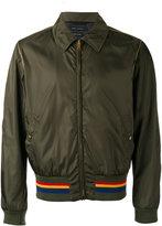 Marc Jacobs collared stripe hem jacket