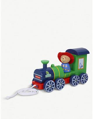 Selfridges Paddington Bear pull-along wooden train