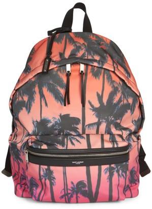 Saint Laurent Sunset Palm City Backpack
