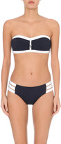 Seafolly Block Party bandeau bikini top