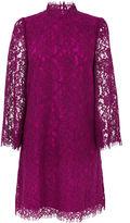 Warehouse Two Tone Lace Dress