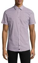 Strellson Sidney Short Sleeve Cotton Shirt