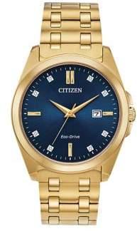 Citizen Corso Diamond Stainless Steel Bracelet Watch