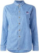 Kenzo Mini Tiger denim shirt - women - Cotton - 36