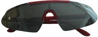 Acne Studios Red Plastic Sunglasses