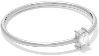 Redline 18kt white gold Comtesse baguette diamond ring