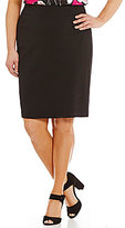 Vince Camuto Plus Ponte Skirt