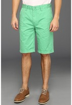 Calvin Klein Jeans Washed Colored Trouser Short (Track Green) - Apparel
