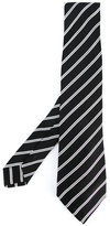 Kiton diagonal stripes tie - men - Silk - One Size