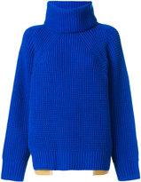Sacai classic knitted sweater - women - Wool - 2