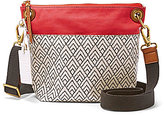 Fossil Keely Geometric Cross-Body Bucket Bag