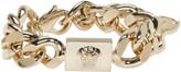 Versace Gold Medusa Chain Bracelet