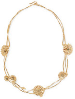 Aurelie Bidermann Athina Gold-plated Necklace - one size