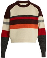 Etoile Isabel Marant Dinky striped-wool sweater