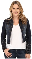 Stetson Shruken Denim Jacket w/ Studs