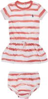Polo Ralph Lauren Baby Girls Tie Waist Stripe Dress