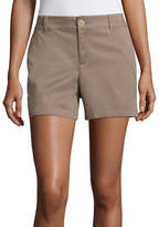 Liz Claiborne 5 Twill Chino Shorts