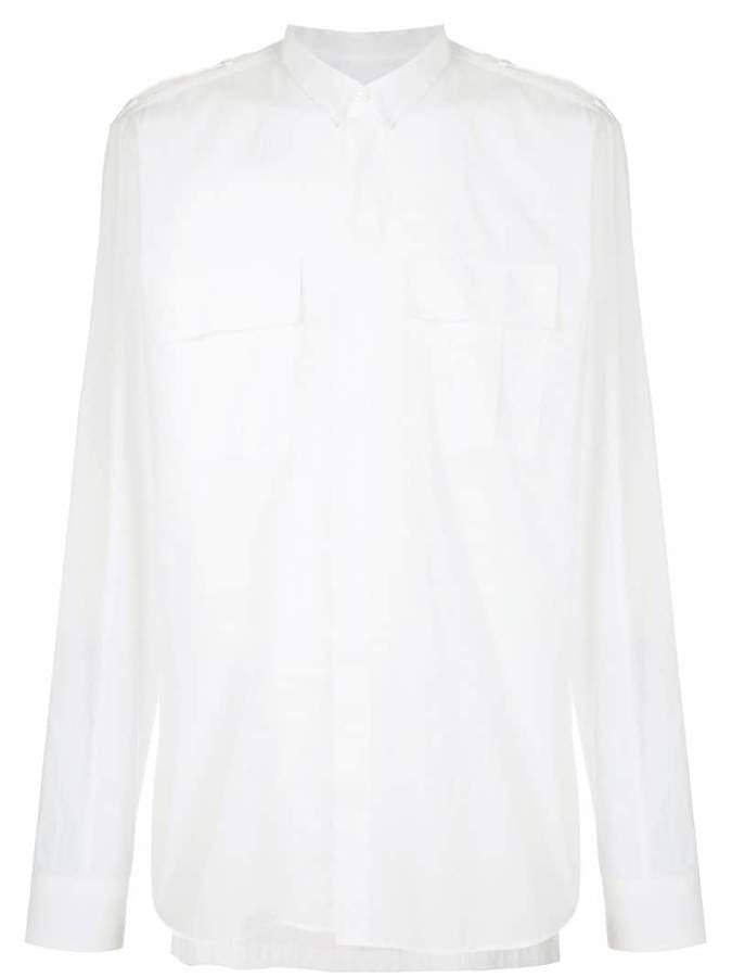 Balmain chest pocket shirt