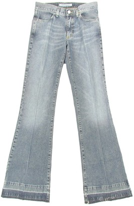 Fornarina 70er Hippie Vintage Retro Womens Flared Jeans Used-lookdenim (Blue)