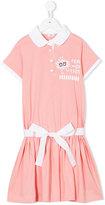 Fendi cartoon print polo dress - kids - Cotton - 3 yrs