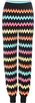 Missoni Activewear knitted track pants