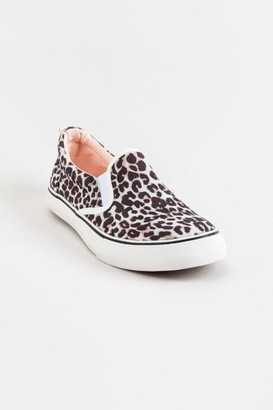 Sugar SugarTM Flicker Leopard Slip On Sneaker - Olive