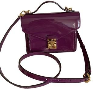 Louis Vuitton Monceau Purple Patent leather Handbags