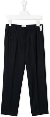 Fendi front pleats smart trousers