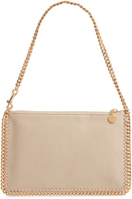 Stella McCartney Falabella Shaggy Deer Faux Leather Shoulder Bag