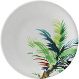 Gien Jardins Palm Dinner Plate - White