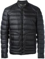 Belstaff banded collar jacket - men - Feather Down/Nylon - 52