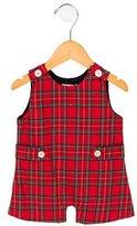 Baby CZ Girls' Plaid Sleeveless Bodysuit w/ Tags