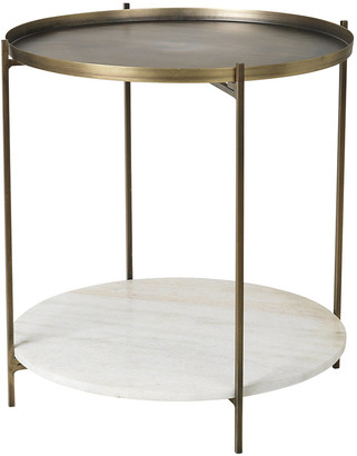 Broste Copenhagen - Tristan Table - Marble/Brass - Large