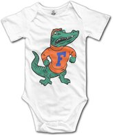 Wavriee University Of Florida UF Florida Gators Logo Baby Girls Romper Bodysuit