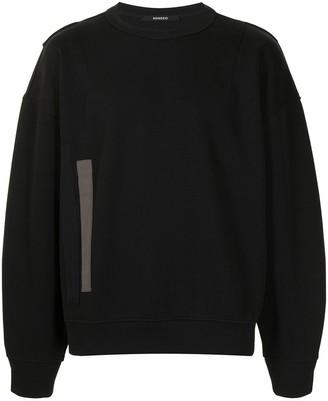 SONGZIO Wide Fold Tape sweatshirt