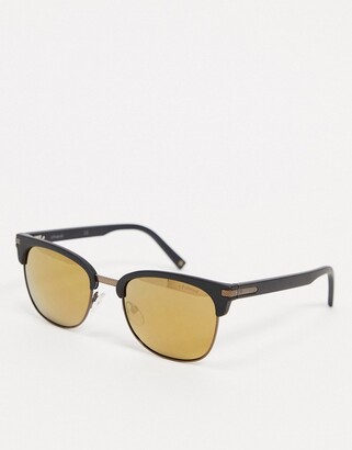 Polaroid Polariod aviator sunglasses in dark brown