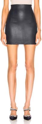 SABLYN Elizabeta Mini Skirt in Navy | FWRD