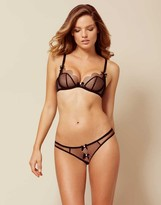 Agent Provocateur Lorna Ouvert Black And Pink