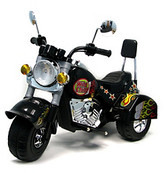 NA Battery-Operated Wild Child Motorcycle - Black