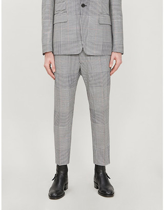 Vivienne Westwood Checked cropped wool trousers