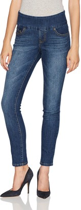 Jag Jeans Women's Petite Nora Skinny Pull on Jean in Surrel Denim