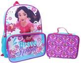 """Disney Disney's Elena of Avalor Kids """"Brave Spirit"""" Backpack & Lunch Bag Set"""